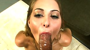 Tongue, Blowjob, Cumshot, Interracial, Sucking, Tongue