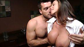 Busty Secretari, Big Tits, Boobs, Brunette, Mature, Mature Big Tits