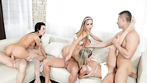 Swinger, Beauty, Blonde, Blowjob, Brunette, Group