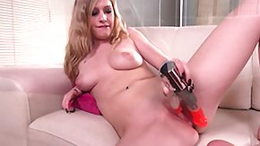 Allie James, Adorable, Blonde, Boobs, Desi, Dildo