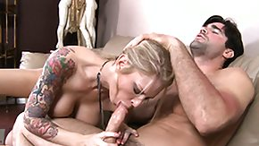 Brooke Banner HD porn tube Brooke Banner brings the handyman in for a rest so that babe can blow him