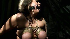 Tied Up, Babe, BDSM, Big Tits, Blonde, Blowjob