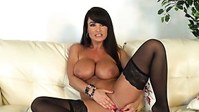 Free Orgasm HD porn videos Curvaceous cougar Lisa Ann focuses on working her unmanly male into an orgasm