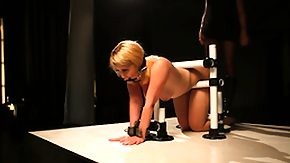 Bondage, BDSM, Blonde, Bondage, Bound, Choking
