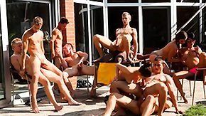 Bisexual, Bisexual, Gangbang, Hunk, Outdoor