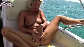 Hd Blonde, Aunt, Beach, Blonde, Boat, Cougar