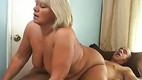 Free Very Big Ass HD porn videos Jelly-belly granny shaking her brickhouse ass on top of a very big dork