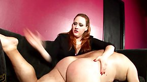 HD Julie Simone tube CBTandBallBusting Video: Over the Knee