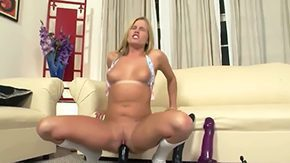 Solo Masturbation, Banging, Bed, Bend Over, Big Cock, Big Natural Tits
