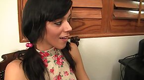 Binky Bangs HD porn tube Teen Binky Bangs Takes Utter 12 Inches Of Sable Cock